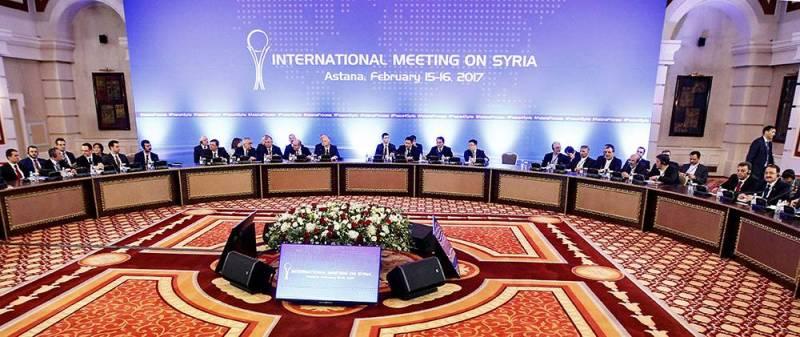 Pas d'avancées aux discussions sur la #Syrie à #Astana  http://www. lorientlejour.com/article/103562 2/pas-davancees-aux-discussions-sur-la-syrie-a-astana.html &nbsp; … <br>http://pic.twitter.com/GeGMd90uJ8