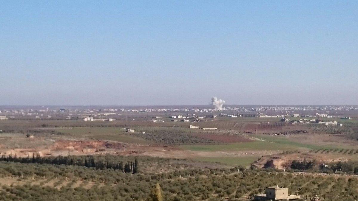 Russian warplanes targeted Daraa al Bald  and  Naeima village by 3 raids