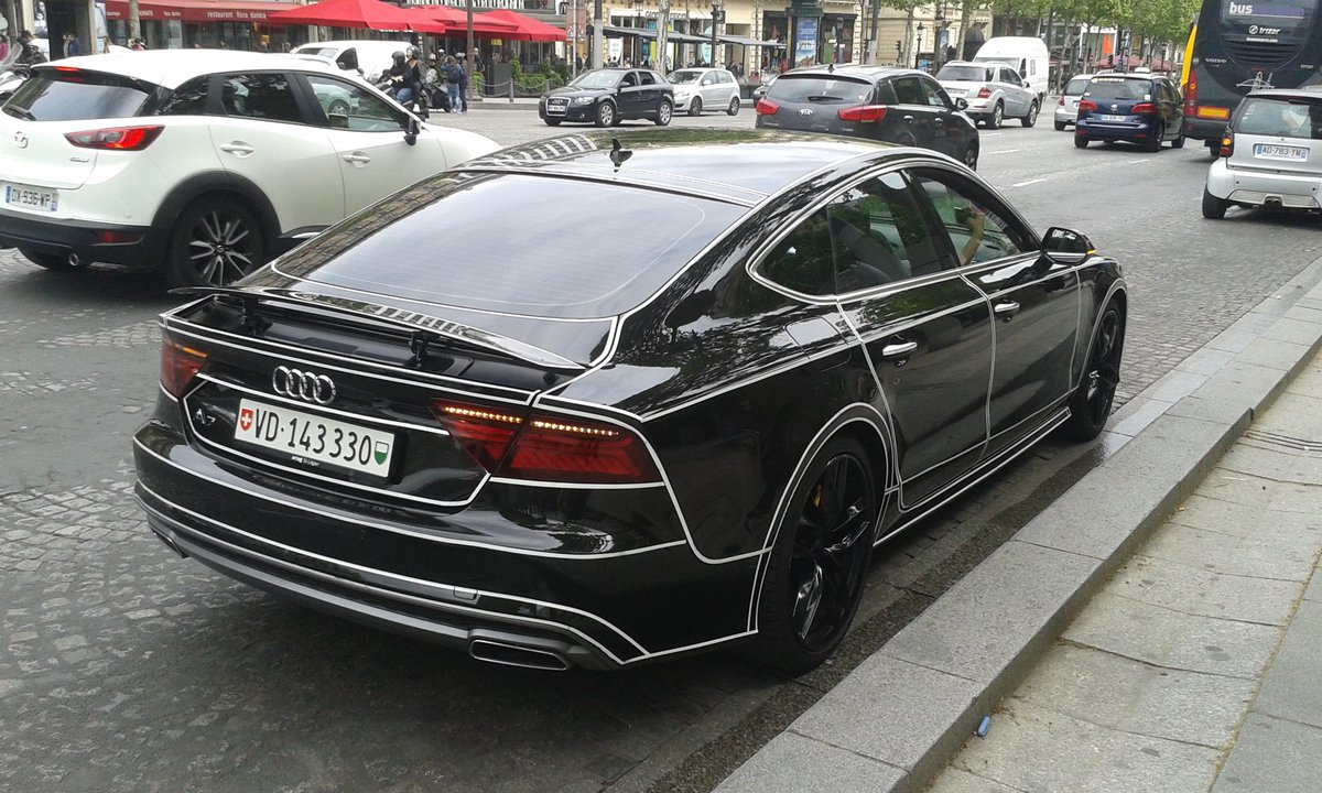 Parisian supercars on twitter audi a7 tron audi for Audi zanetti maison alfort