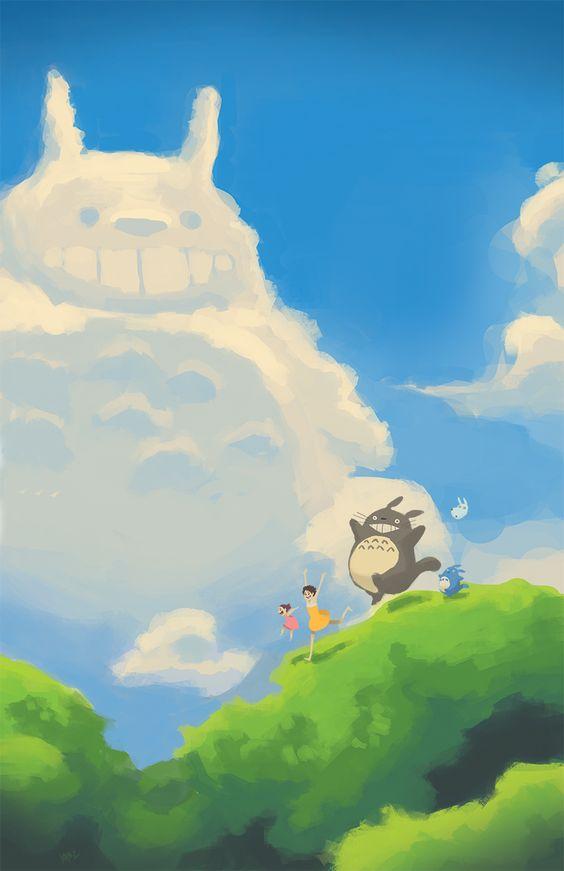 Dernière ligne droite avant le Week-End avec Totoro  #Totoro #Fanart #Ghibli<br>http://pic.twitter.com/jY6keCEBRk