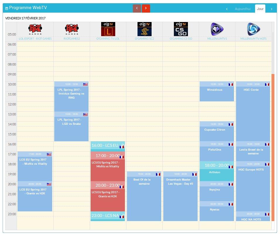 Tous les programmes de ce vendredi   http://www. programme-streaming.tv/site/web-tv-ch annels-guide &nbsp; …  #WebTV #Twitch #Planning <br>http://pic.twitter.com/h42QqRIii3