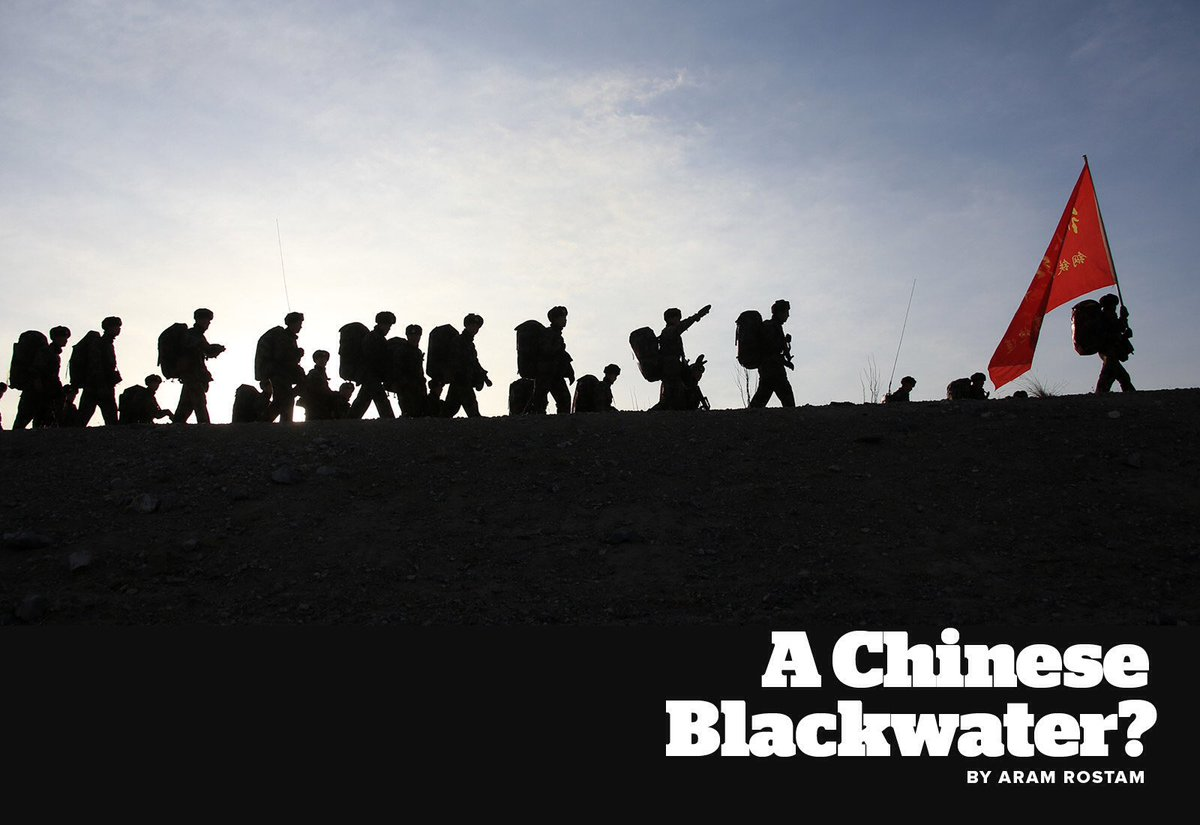 #Chine le fondateur de #BlackWater (mercenaires) met en place une armée privée en #Chine    https://www. buzzfeed.com/aramroston/bet sy-devoss-brother-is-setting-up-a-private-army-for-china?utm_term=.yoAJqDl5x#.ip8q0wjlQ &nbsp; …  <br>http://pic.twitter.com/QGB9Wxe0U3