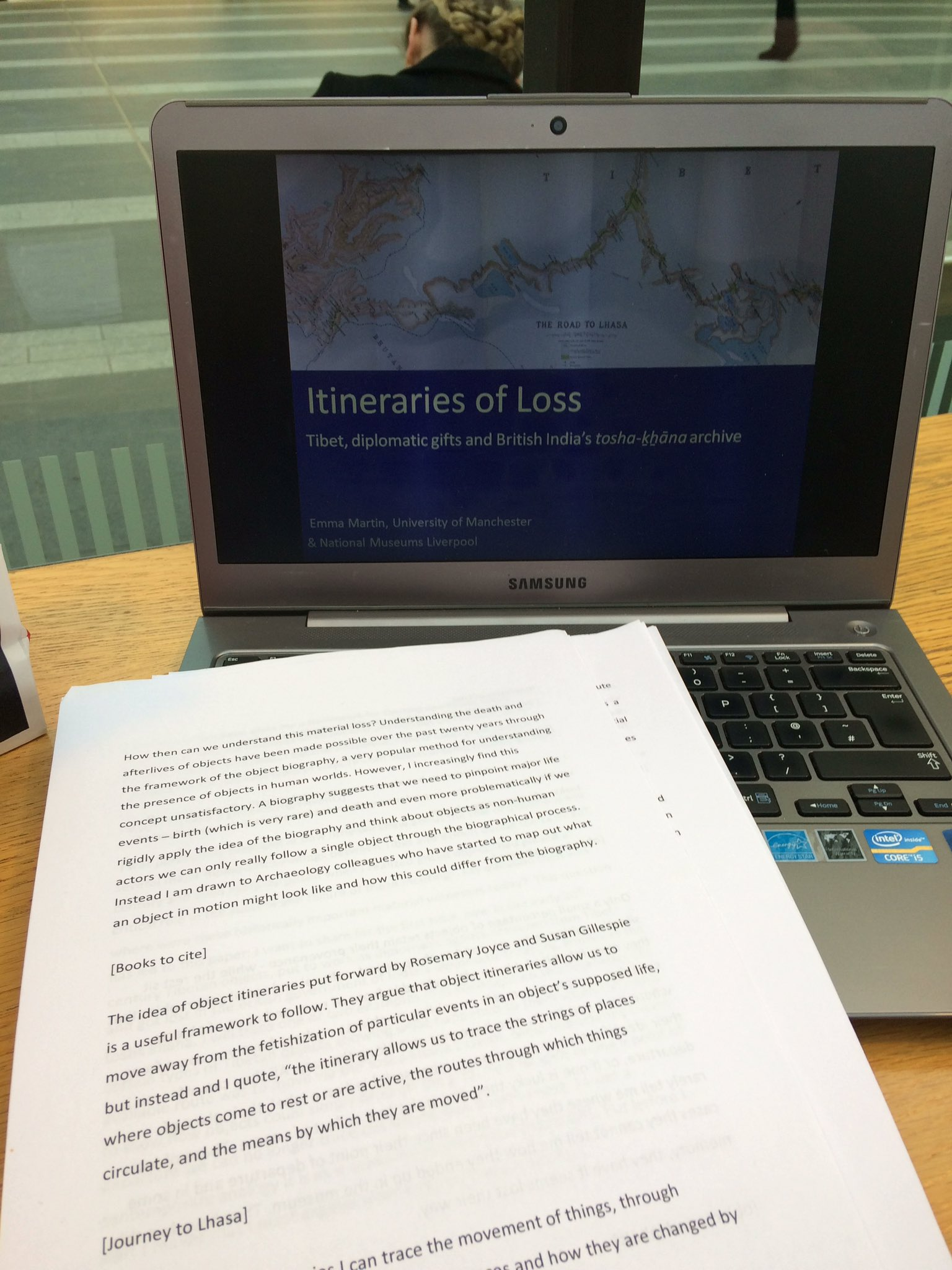 Final run through of my talk for Understanding #MaterialLoss conference @BarberInstitute looking forward to some great papers https://t.co/FChVuANghb