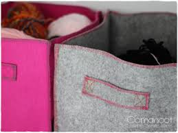 10 Minute DIY Felt Boxes