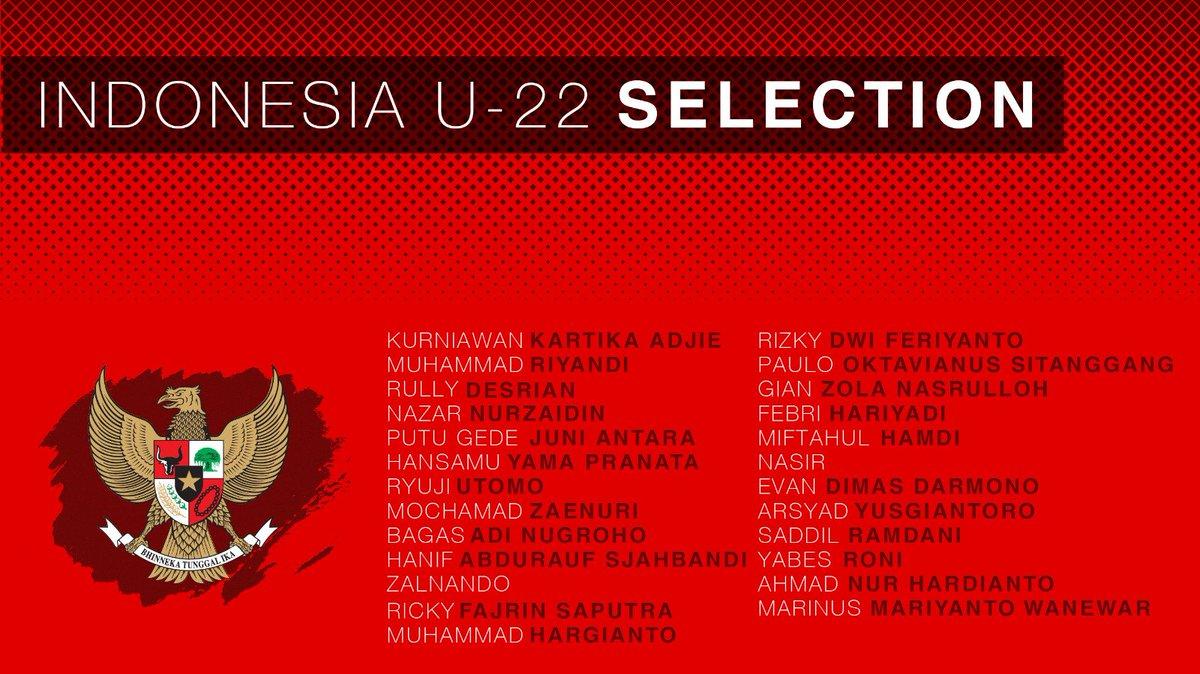 Daftar 22 pemain gelombang pertama yang dipanggil pelatih Luis Milla