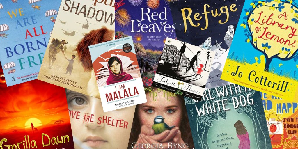 It's #RandomActsOfKindnessDay so here are some wonderful books all about compassion and empathy. Spread the joy... https://t.co/1qQ6ueHPfd