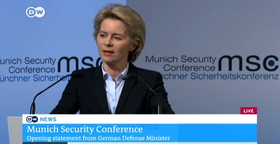 Von der Leyen: Bots, trolls and fake news are undermining democratic institutions, our open societies are under threat