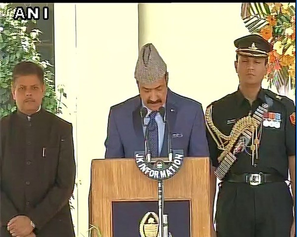 J&K: Basharat Bukhari who had been given new portfolio of Minister for Horticulture in today's reshuffle sends letter of resignation to CM