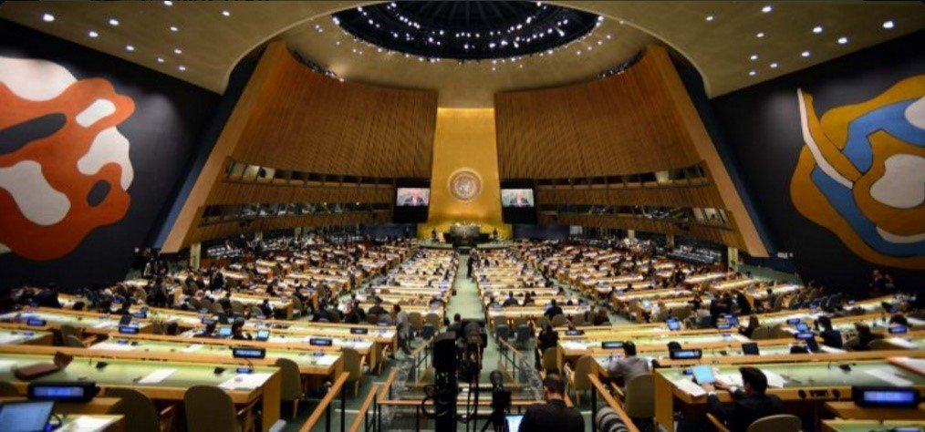 More Than 1.2k Americans Expected at Historic Gathering in Support of the @UN at Institution's HQ in #NYC → https://t.co/2fFgWP6TNn #UNAatUN https://t.co/pCJwaE2xFs