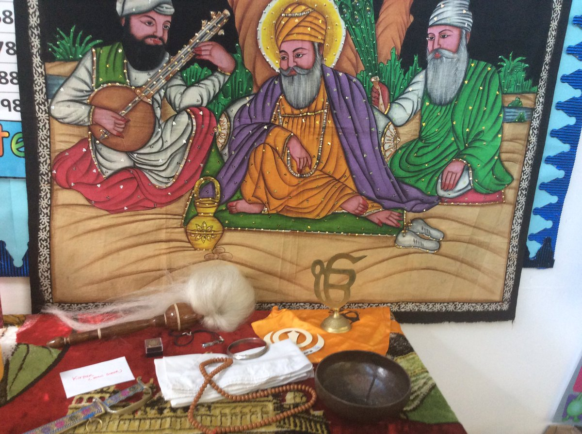 World Religion Week at St. Patrick's. Year 3 have been learning about Sikhism.