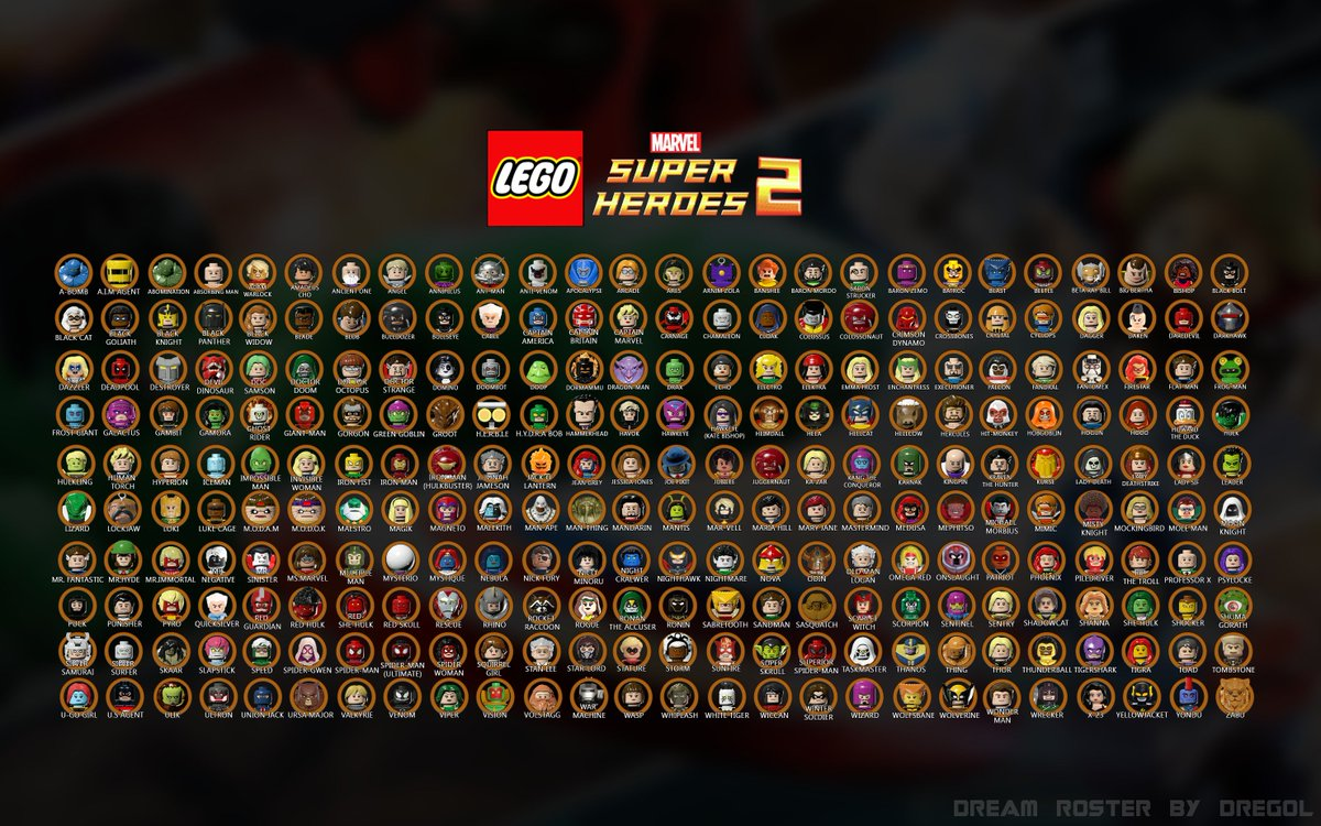 Lego Marvel Character List A Z Image Mag