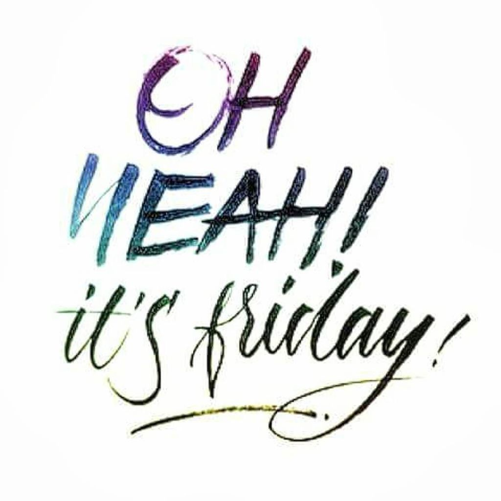 It's Friday!  Anyone have any plans this weekend? #weekends #friday #words #tgif #finallyfriday #instagood #instawo… pic.twitter.com/ZGge0oU5yG