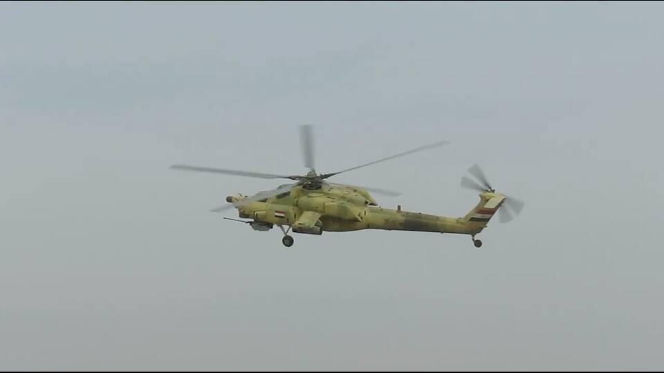 Photo: Mi-28 at NE Mosul