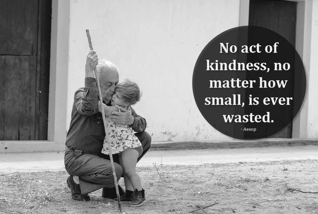 No act of #kindness, no matter how small, is ever wasted.  #quote #kind #caring #compassion https://t.co/UxO8pVim0U