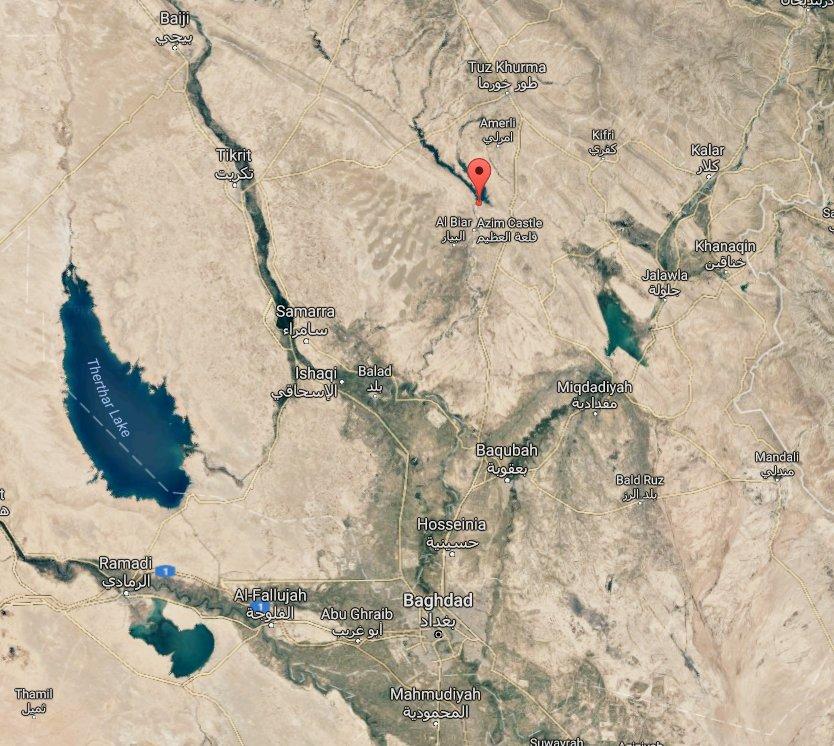 Hashd al-Shaabi stop ISIS attempt to destroy al-Azim / al-Adhaim dam. ISIS commander arrested