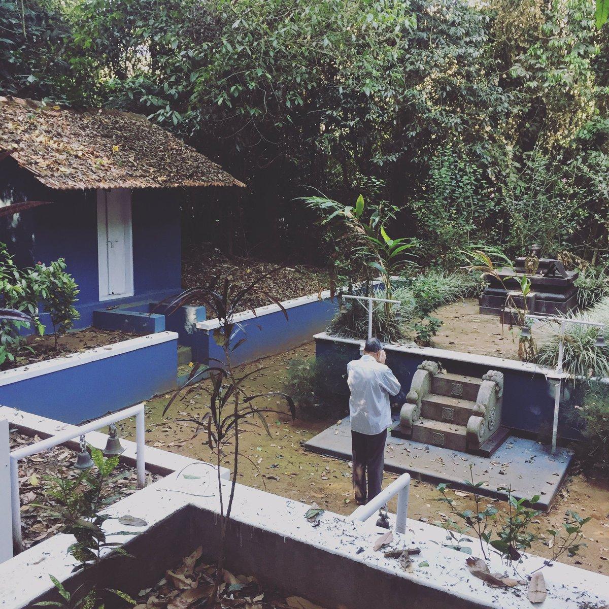 At the 200+ yrs old Neelyat Sarthavu Swamy Devasthana in my hometown of Kokery (Coorg).