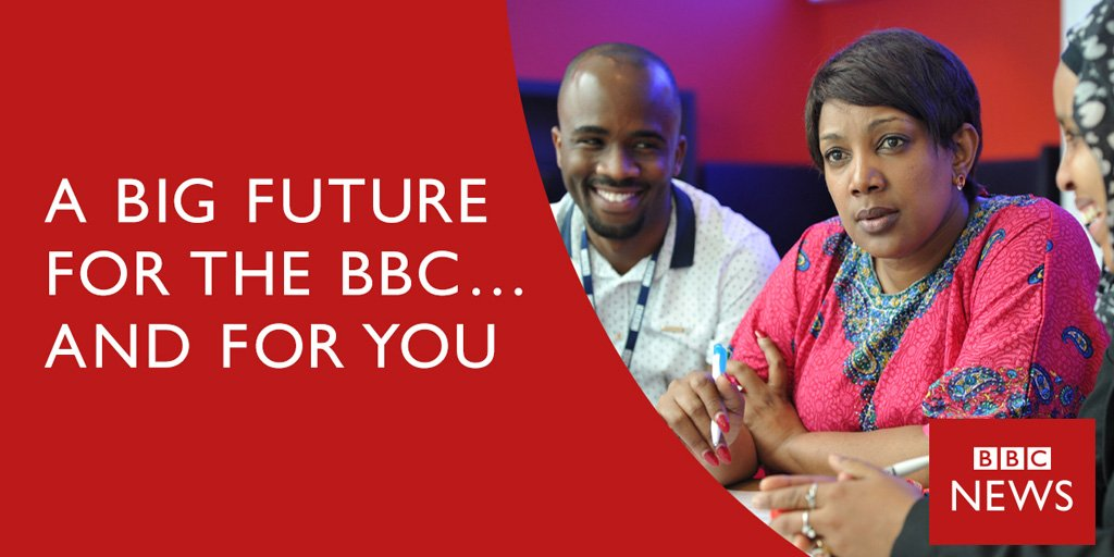 We're hiring! Apply for Broadcast Journalist #jobs in our new #Pidgin Service ✍️🏾 https://t.co/X3uAZWZxHO #Nigeria