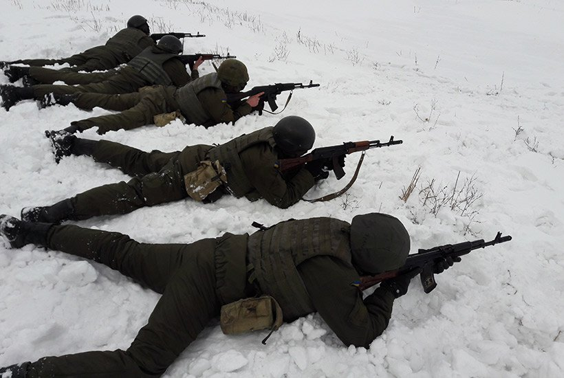Col. Oleksandr Motuzyanyk: National Guard Servicemen participated in firing drills