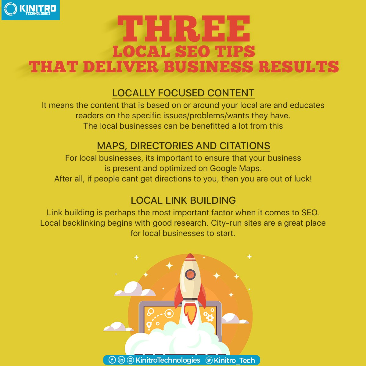 Three local #seo tips that deliver business results! #Seotips #DigitalMarketing https://t.co/fP8ti4FGZn