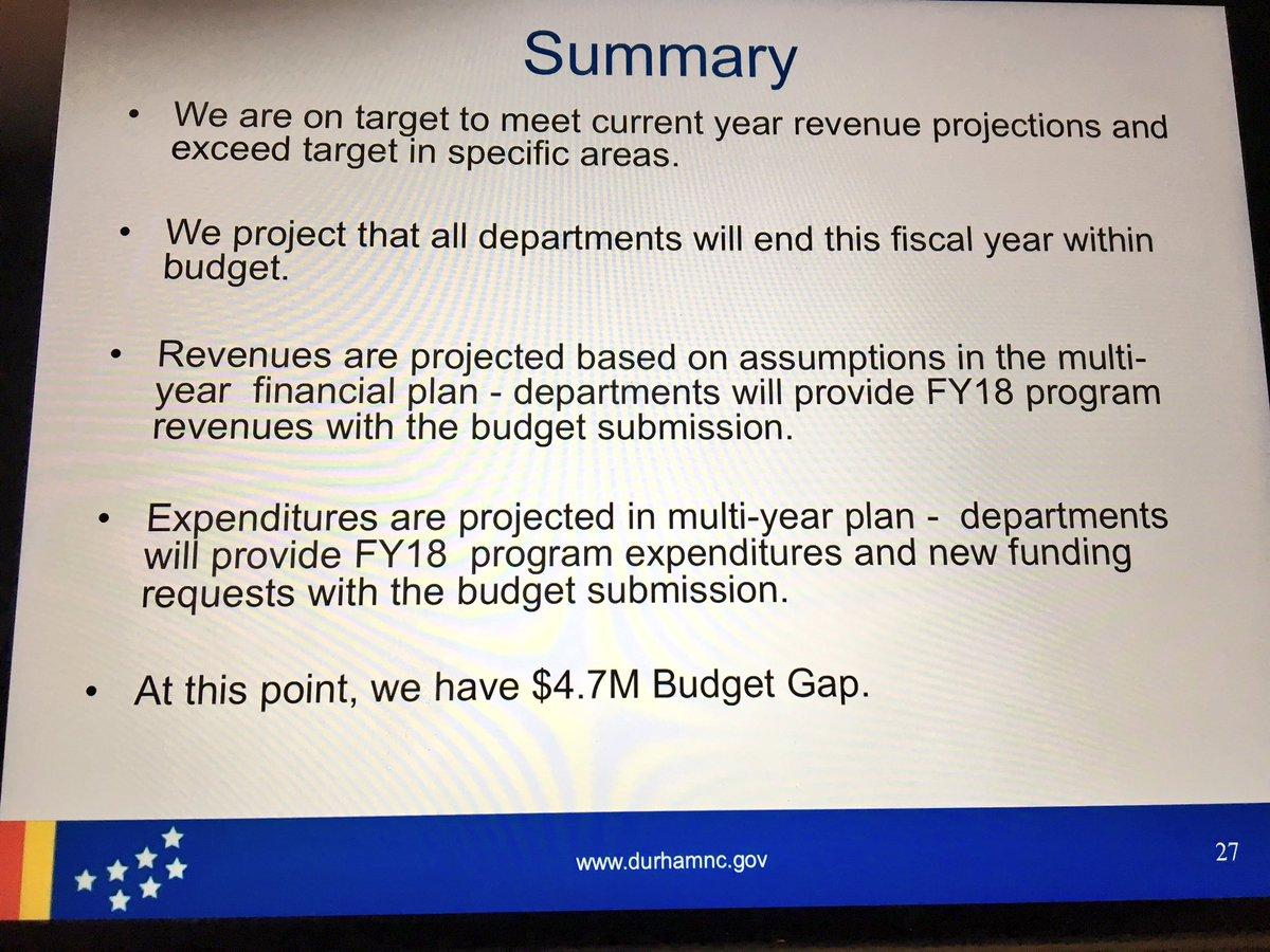 Cityofdurhamnc On Twitter Durham Budget Director Bertha Johnson