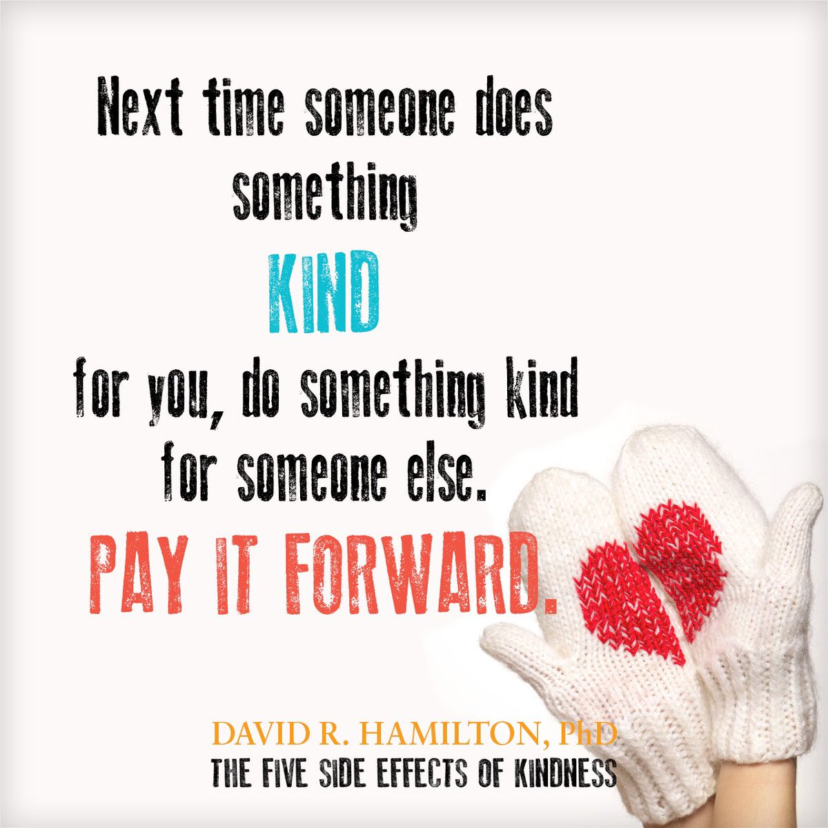 Happy #RandomActsOfKindnessDay Every act of kindness makes a difference, however small.