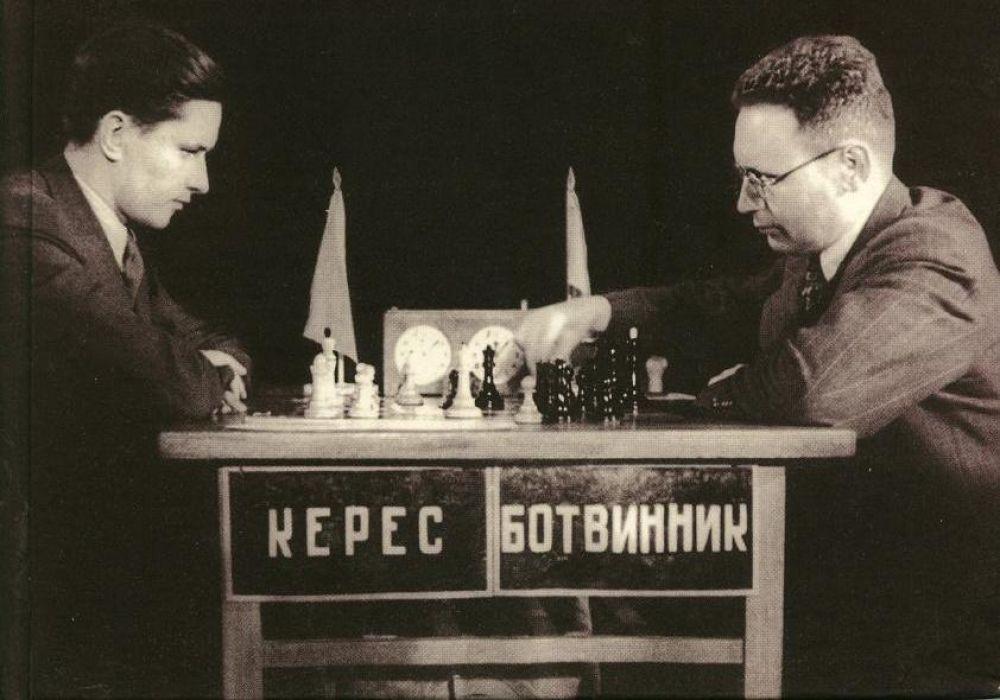 Slikovni rezultat za botvinnik keres 1948
