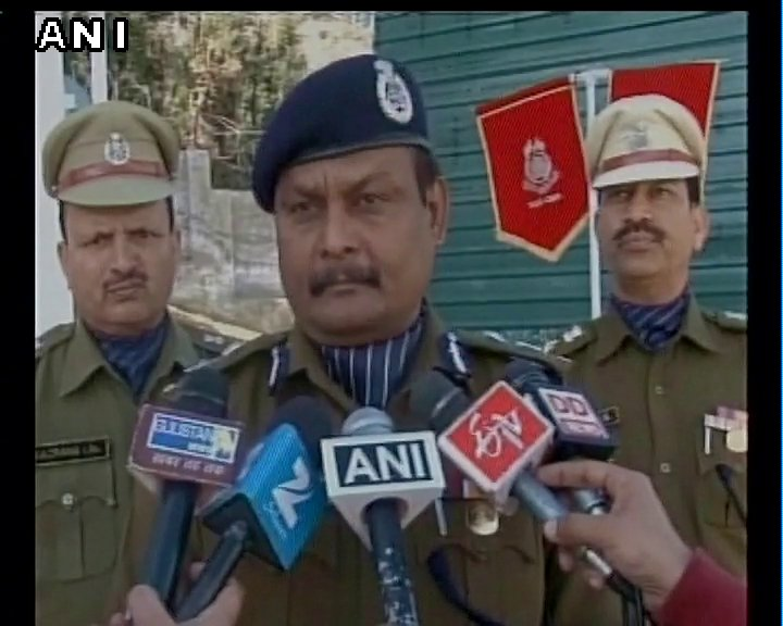 Doda (J&K): If someone is trying to help an established terrorist to run way, then it definitely is a wrong thing, AV Chauhan, IG, CRPF