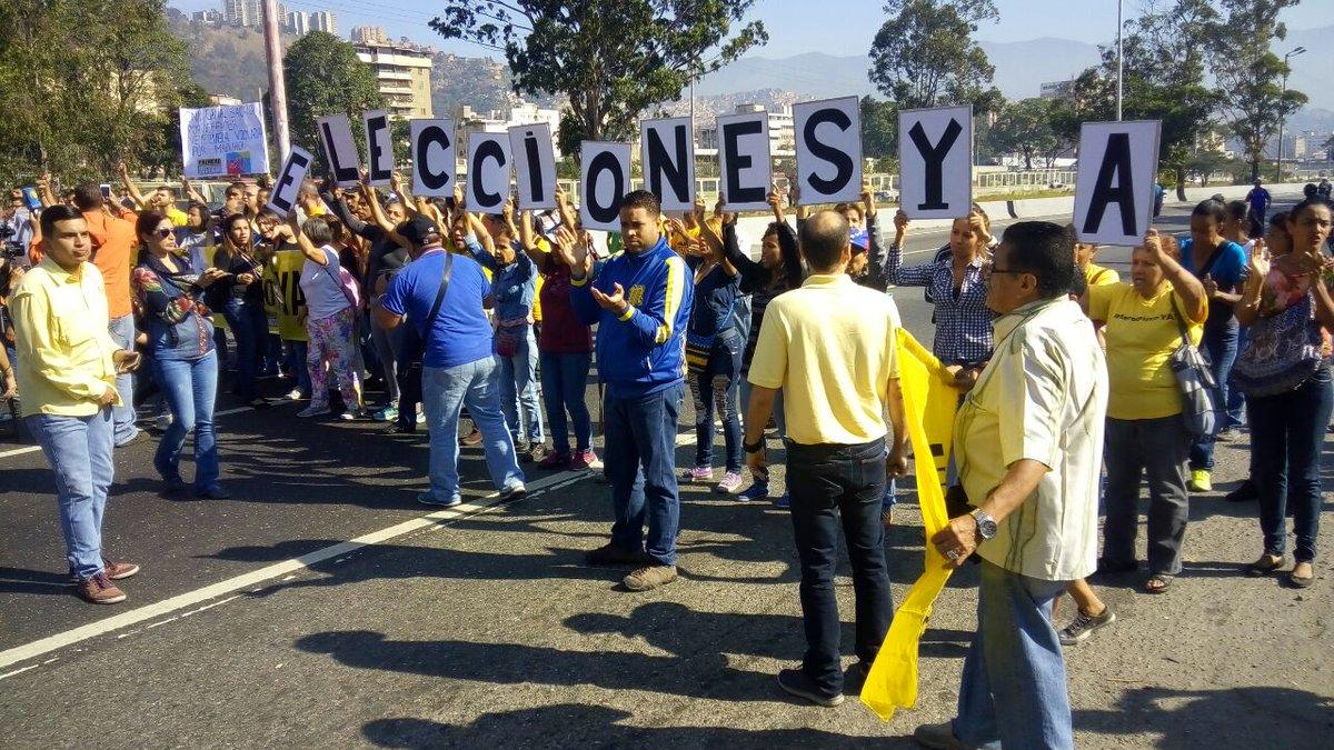 Hoy Caracas vuelve a activarse exigiendo #EleccionesYa ¡Nada detendrá...