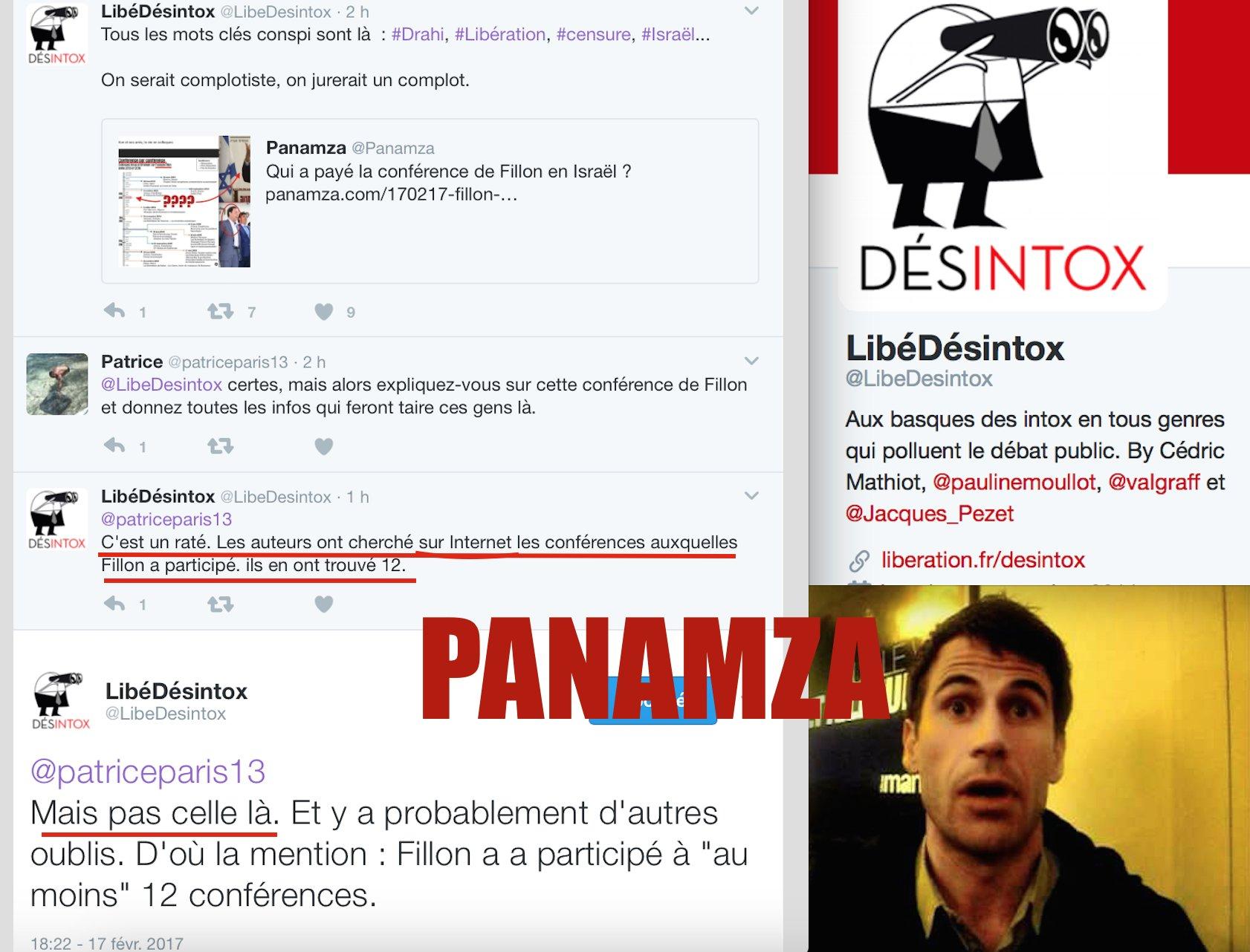 Libération humilié par Panamza : le journal prétend avoir «raté» l'info sur la conférence israélienne de Fillon