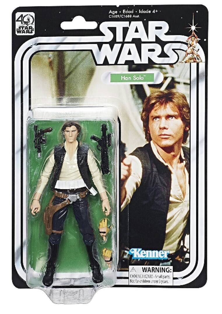 FIRST LOOK: new #StarWars #ANewHope #StarWars40 Black Series figures announced feat. #HanSolo #ObiWanKenobi #R2D2 #PrincessLeia   <br>http://pic.twitter.com/vYFB2QfBgN