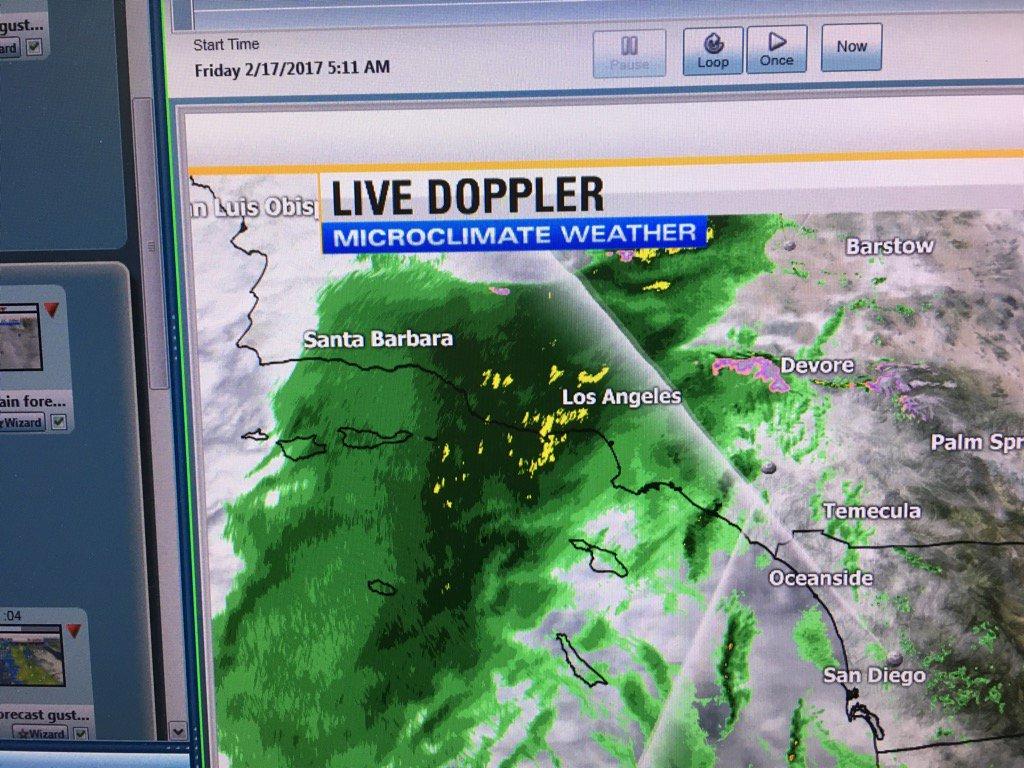 Shawn Styles On Twitter The Latest Live Doppler Radar Heavy Rain - Los angeles doppler map