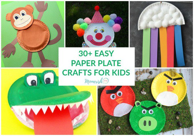 30+ Easy Paper Plate Crafts for Kids
