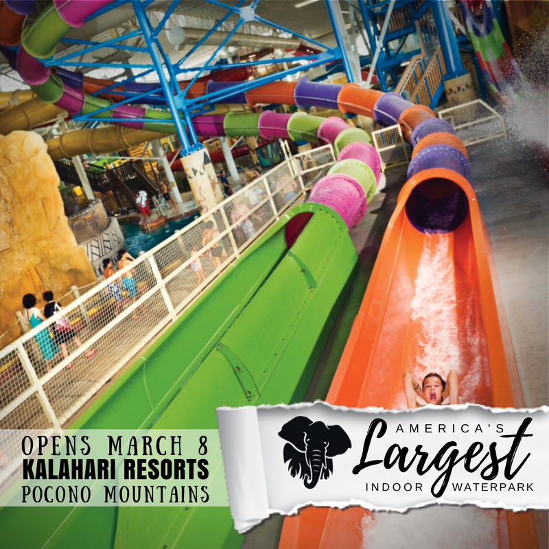 Kalahari Resorts On Twitter America S Largest Indoor Waterpark Is Coming To The Poconomtns Opening March 8 Americaslargest Youshouldbehere