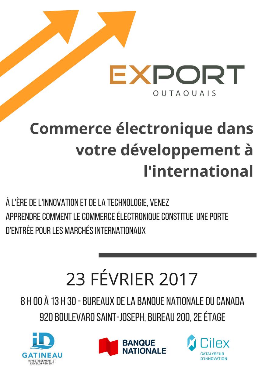 FORMATION #ECOMMERCE ! En partenariat avec @banquenationale et en collab avec @Cilex7 et @idgatineau ! Plus que TROIS places disponibles.<br>http://pic.twitter.com/gEqVOYEsed