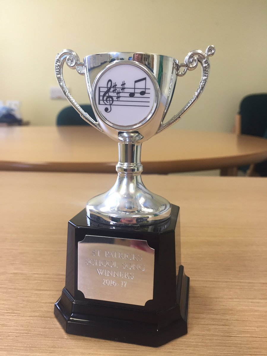 Congratulations to our Year 5 for winning the school song award 2016-17 #trophy #prizemoney