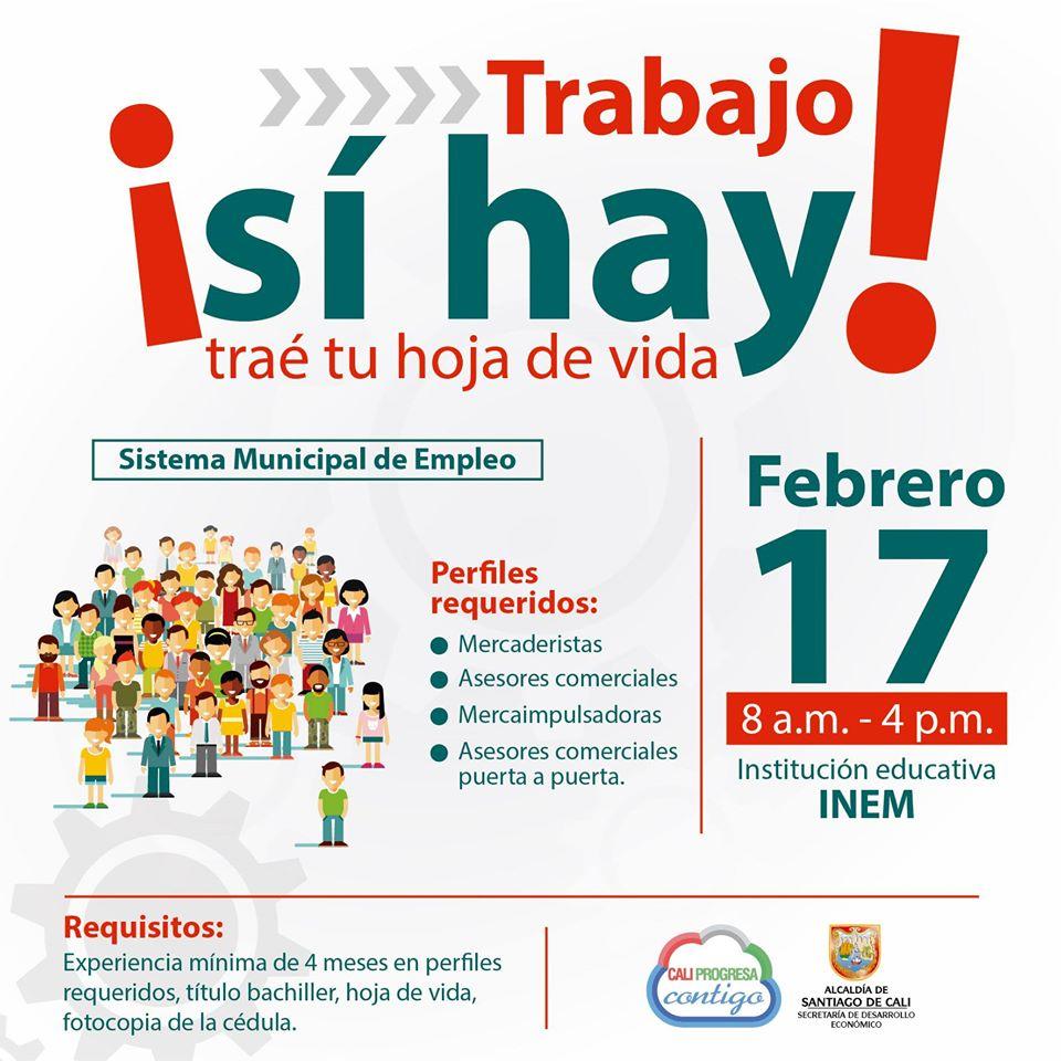 Hoy, jornada de empleo en el Inem hasta las 4:00. Son 1.075 vacantes. Todavía hay tiempo para ir  #SiHayTrabajo <br>http://pic.twitter.com/LBqeJKQwiv