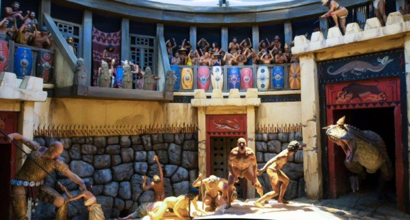 Creationist Ken Ham: Dinosaurs fought gladiator battles against humans and giants https://t.co/ZjUr89m4zE