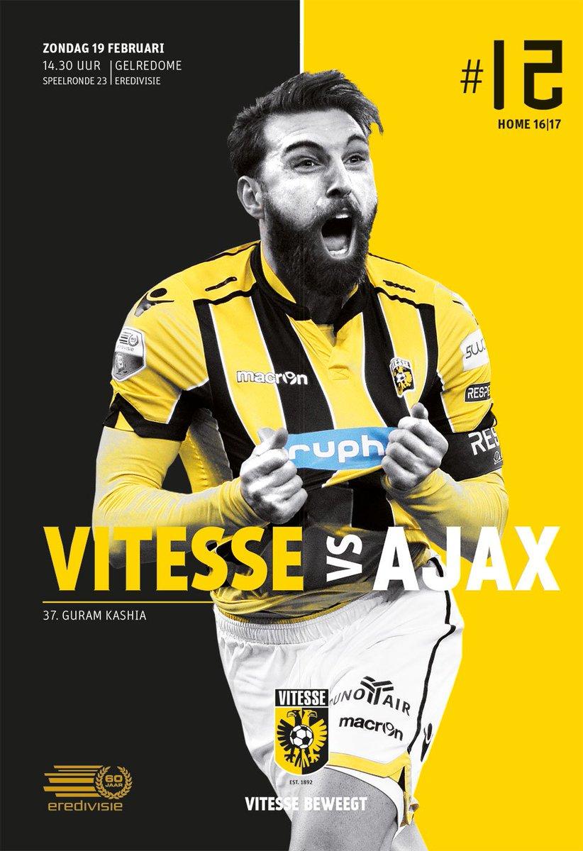 MATCHDAY! #Vitesse vs @AFCAjax ⚽️14.30 uur, come on Vites! #vitaja💥 ht...