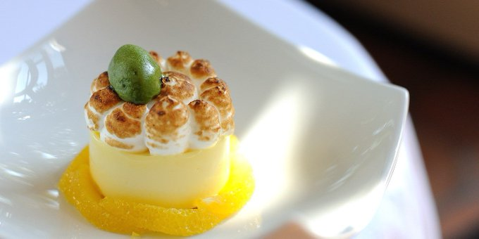 Lemon Meringue Pie Recipe With Oranges & Basil