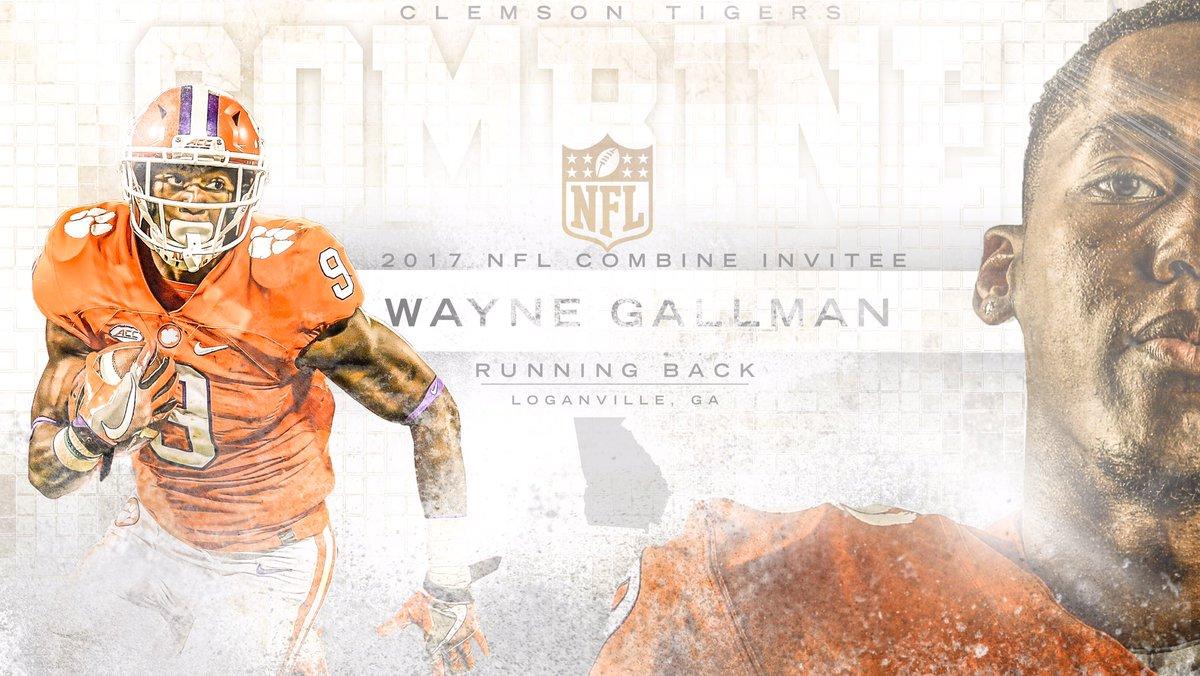 The Wayne 🚂. Good luck in Indy,  @Wanye_Kanye. #ClemsonNFL #ClemsonFam...