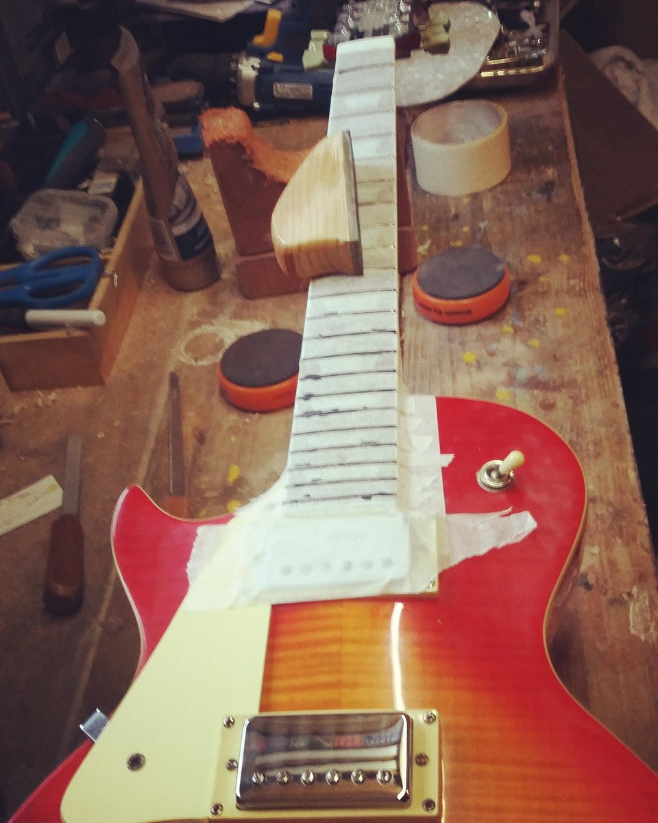 Another fret job Friday #luthier <br>http://pic.twitter.com/Tk7WFowMFR
