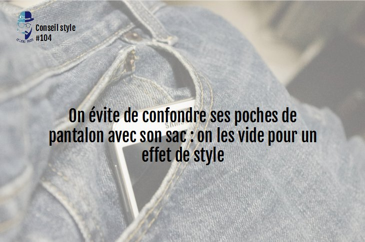 Conseil style #104 : on pense à vider ses poches pour un effet de style ! #fashionblogger #ootd #outfitoftheday #mode #style #tendance <br>http://pic.twitter.com/Nt5yk1Hal5