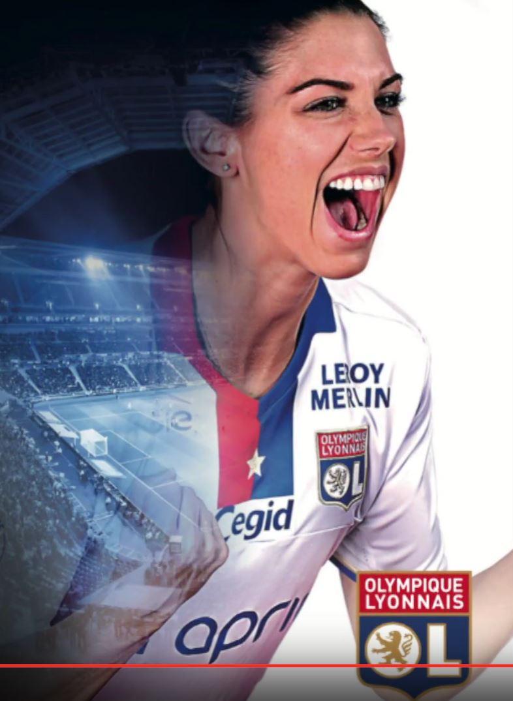 Roar like a lioness. #AlexMorgan #USWNT #WoSo #TeamOL #OLFeminin<br>http://pic.twitter.com/NLicu90y2w