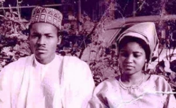 Throwback Photo Of Buhari And His First Wife Safinatu In 1971:Worldlywap.net