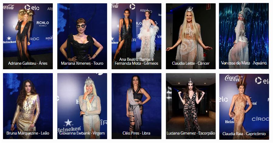 Qual famosa representou melhor o signo no Baile da Vogue? Vote na que...