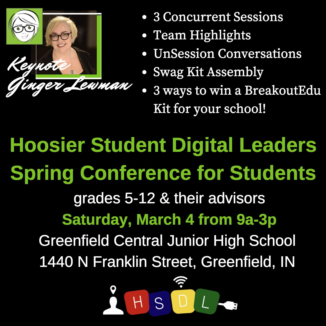 Thumbnail for Hoosier Student Digital Leaders Spring Conference 2017