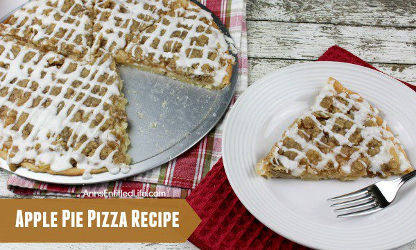 Apple Pie Pizza Recipe