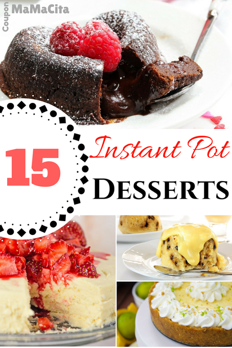 15 Mouth-Watering Instant Pot Dessert Recipes You need In Your Life Now!