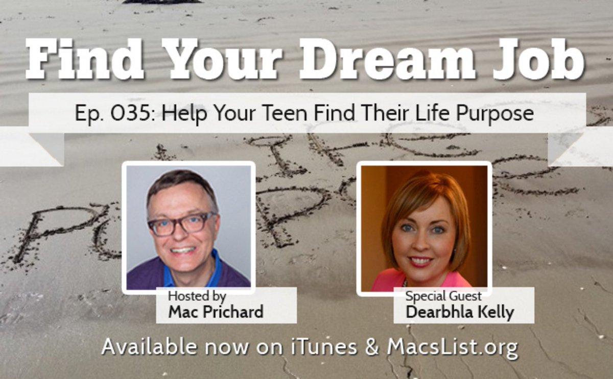 mac prichard on twitter ep 035 help your teen their life mac prichard on twitter ep 035 help your teen their life purpose dearbhlakelly t co ah35gdsj51 teen careers