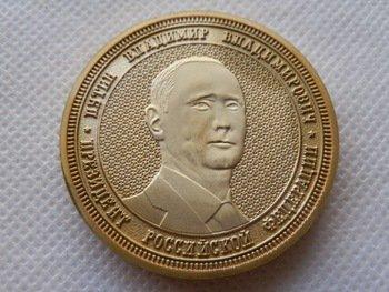 Putin Crimea Souvenir Coin #Putin #VladimirPutin  http:// goputin.com/product  &nbsp;   ...  http:// goputin.com/product/2014-p resident-putin-russia-souvnir-gold-coin/ &nbsp; … <br>http://pic.twitter.com/MT97Uj4T5w